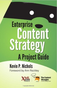 Enterprise Content Strategy Book Cover